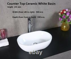 100cm Washstand Bathroom Vanity Unit. Marble Top, Bowl, Waste Painted Any Colour