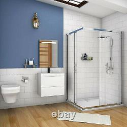 500mm / 600mm Vanity Unit Wall Hung with Optional Sink Storage White Bathroom