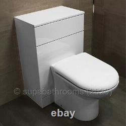 Back To Wall BTW Vanity Toilet Unit WC Pan, Concealed Cistern