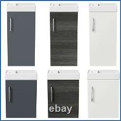 Bathroom Basin Sink Vanity Unit Furniture 1 TH Floor Standing Wall Hung 400mm
