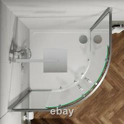 Bathroom Suite Quadrant Shower Enclosure Basin Sink Vanity Unit Toilet WC 900mm