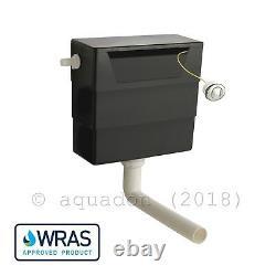 Bathroom Vanity Unit 600mm 2 Door Turin Sink Basin BTW Toilet Seat Cistern Suite