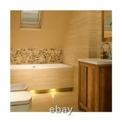 Bathroom Vanity Unit 600mm 60cm Floor Standing Cabinet Classic Oak Finish Effect