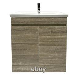 Bathroom Vanity Unit Basin Sink Storage Floor Standing Cabinet Furniture 800mm