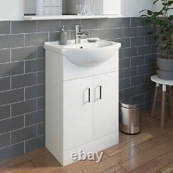 Bathroom Vanity Unit Drawer Cabinet Laundry Storage Toilet Furniture Basin Sink