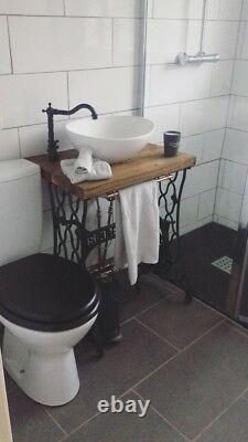 Bathroom Vanity Unit Singer Industrial Vintage Reclaimed