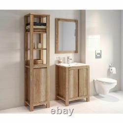 Classic Freestanding Vanity Bathroom Under Sink Unit 80cm 800 Oak Classic Oak