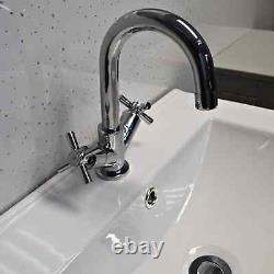 Derby Light Grey Bathroom Suite Vanity Sink Basin + WC Toilet Unit