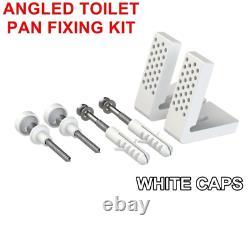 Gloss White Vanity Unit Sink & Toilet Ceramic Basin & Pan Bathroom Suite 1700
