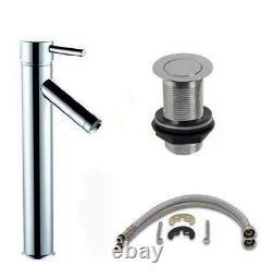 Oak Bathroom Washstand Vanity Unit 750mm Wide Freestanding Unit With Sink Basin