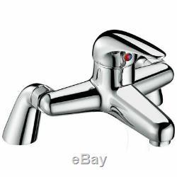 Senore Bathroom Complete Shower WC Close Coupled Toilet Basin Vanity Unit Suite