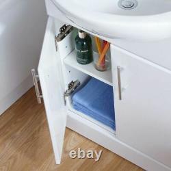 Senore Bathroom Suite 1700mm Vanity Unit WC Close Coupled Toilet Taps Waste