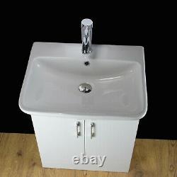 Vanity Unit Cabinet Basin Sink Bathroom Cloakroom Floor standing compactTap 225A