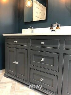 Vanity Unit Washstand Quartz Solid Hardwood Bespoke Made to Order
