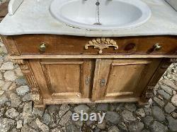 Victorian vanity unit