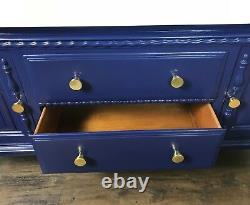 Vintage Bathroom Vanity Sink Basin Unit With Double Basins Furniture Twin Sinks